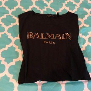 H&M Balmain Paris